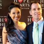 Veronica De La Cruz & Martin Cody at Raise A Glass Benefit