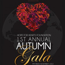 Hope For Hearts Gala November 9th