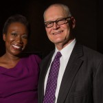 MSNBC's Joy Ann Ried and health care advocate Wendell Potter